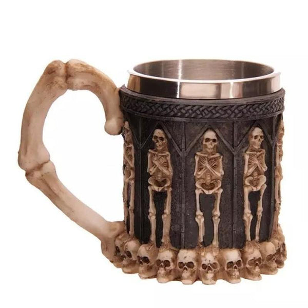 3D Fantasy Skull or Dragon Mugs