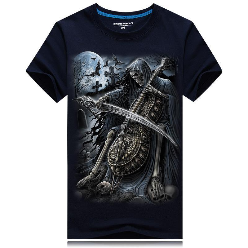 3D Design Violoncello T-shirt