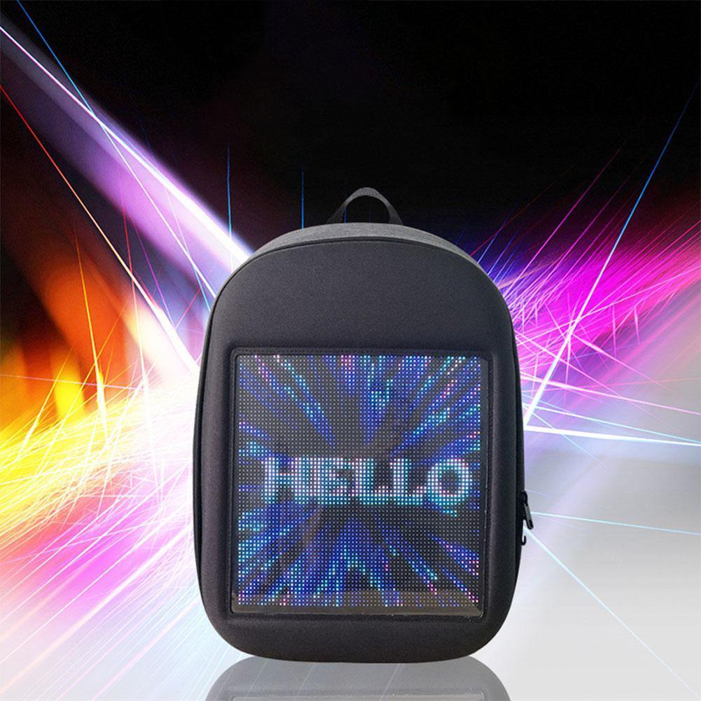 Dynamic Display Screen LED Backpack