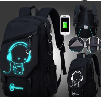 Glowing Travel computer bag