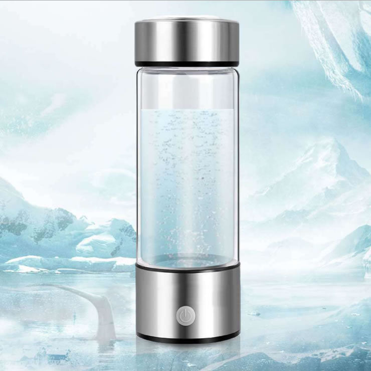 Hydrogen-Rich Borosilicate Glass Smart Water Cup