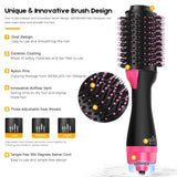One Step Hair Dryer & Volumizer Styling Brush Hair Straightener Curler