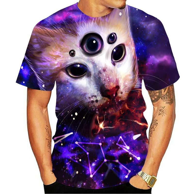 Oracle Kitty 3D T Shirt