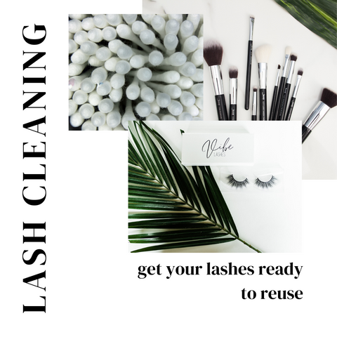 lashes brushes and cleaning