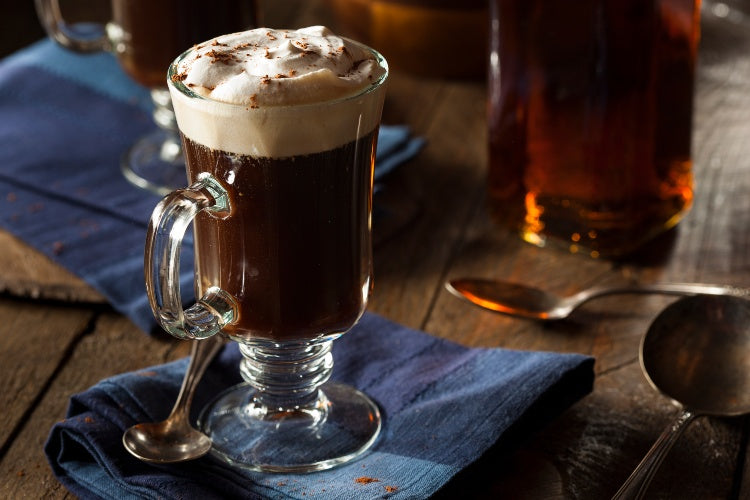 Irish Coffee | Top Whiskey Cocktails | Dramson