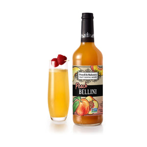 Cocktail Mixer-Powell & Mahoney Peach Bellini Mix (25.36 oz)-Powell & Mahoney-Dramson
