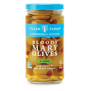 Cocktail Olives-Bloody Mary Olives (12 oz)-Tillen Farms-Dramson