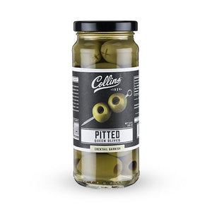 Cocktail Olives-Collins Pitted Olives (5.5 oz)-Collins-Dramson