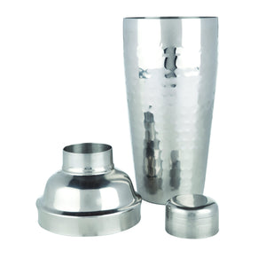 Bar Tools-Cocktail Shakers-Hammered Cocktail Shaker-Viski-Dramson