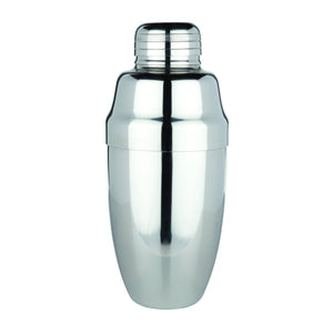 Bar Tools-Cocktail Shakers-Heavyweight Cocktail Shaker-Viski-Stainless Steel-Dramson