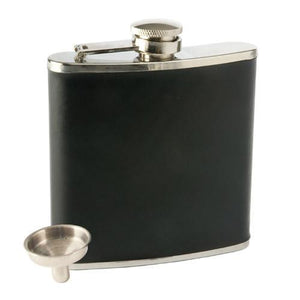 Faux Leather Flask-TRUE-Dramson
