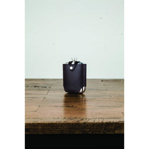 Stainless Steel Flask and Traveling Case-Viski-Dramson