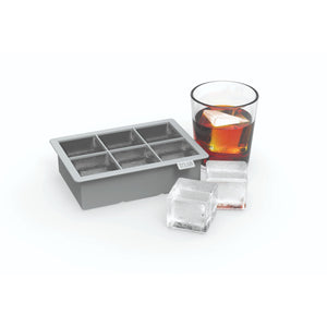 Bar Ice-Ice Cubes-Large Ice Cube Tray-TRUE-Charcoal-Dramson