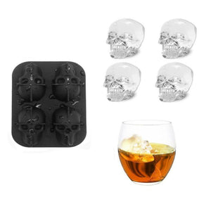 Bar Ice-Ice Shapes-Skull Ice Tray-Foster & Rye-Dramson