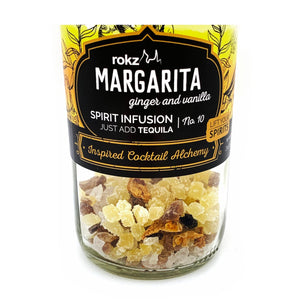 Made with all-natural ginger and vanilla to infuse flavor to tequila for great margaritas