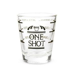 1.5 oz Measured Shot Glass-TRUE-Dramson