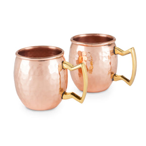 Moscow Mule Shot Mugs (Set of 2)-Twine-Dramson
