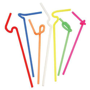 Bar Tools-Straws-Ultra-Bendy Straws (Set of 50)-TRUE-Dramson