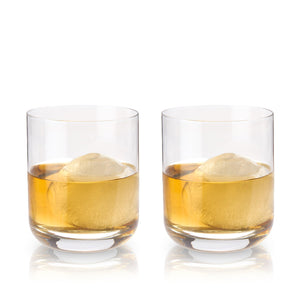 Crystal Whiskey Tumblers (Set of 2)-Viski-Dramson