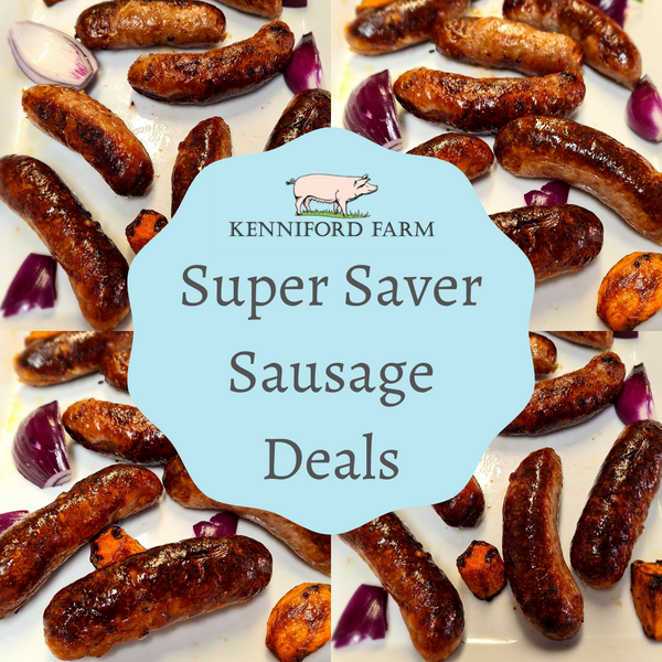 Super Saver Sausage Packs - Olde English
