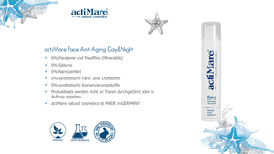 actiMare Face ANTI AGING Day&Night - 50ml | Gesichtscreme
