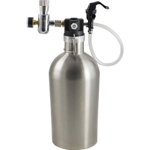Draft Growler - 2 litros Inox