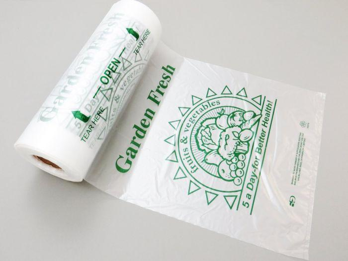 HDPE 5-A-Day Produce Roll Bags (12