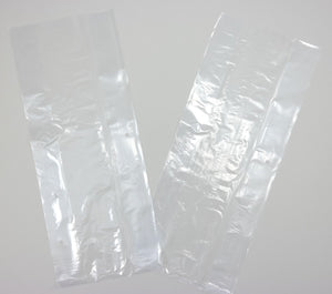 "LDPE Clear Poly Vented Bags (6"" x 3"" x 15"")"