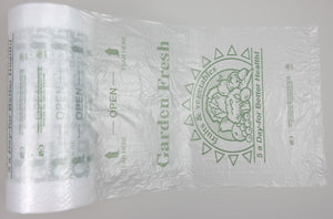 "HDPE 5-A-Day Produce Roll Bags (12"" x 20"")"
