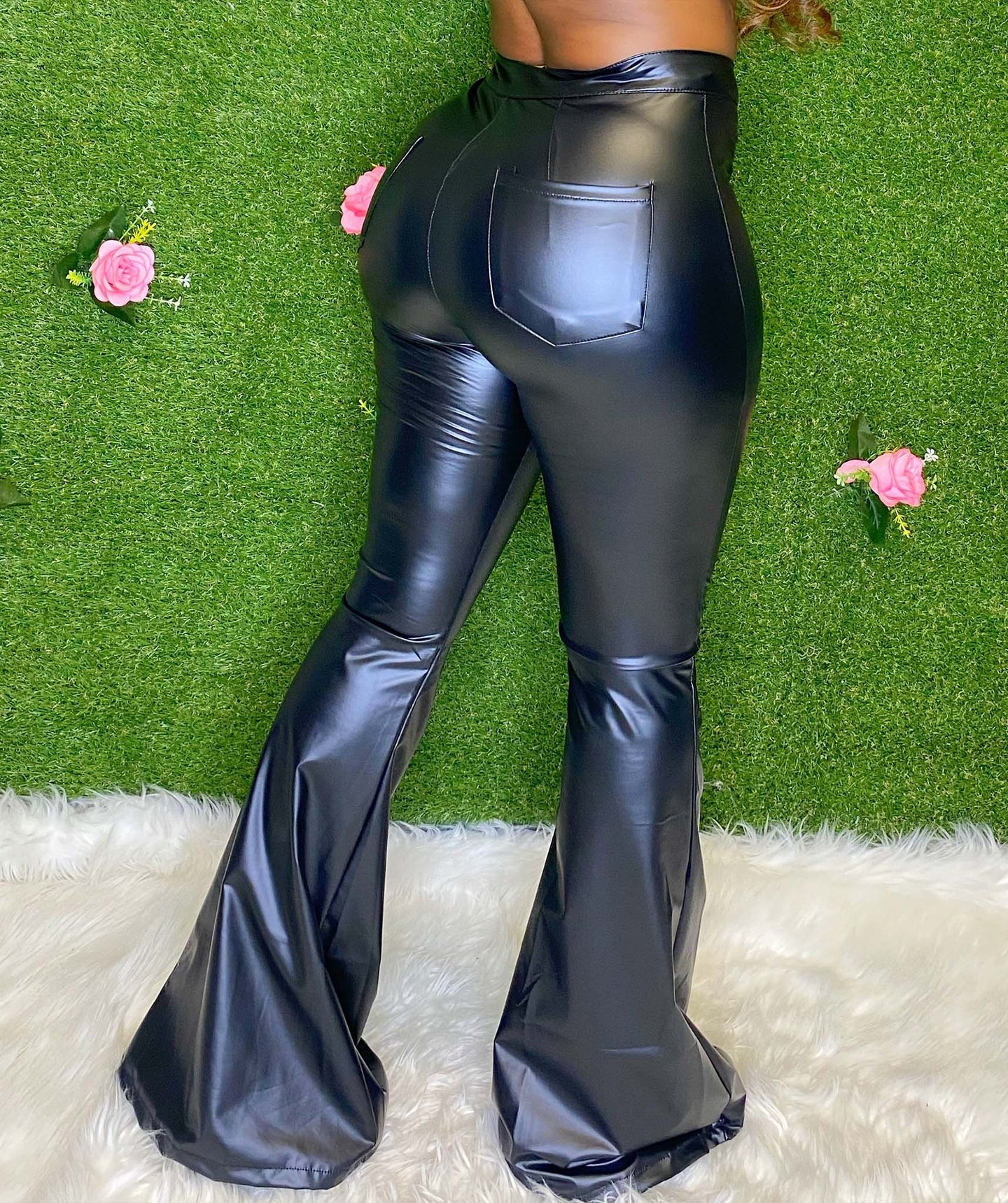 Lady In Leather (Bellbottoms)
