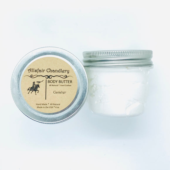 Cavalier 4 oz Manly Body Butter