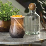 Blown Glass Illumination Fragrance Warmers - Obsidian