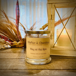Day at the Spa 9 oz 100% Soy Wax