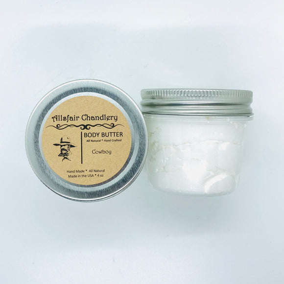 Cowboy 4 oz Manly Body Butter