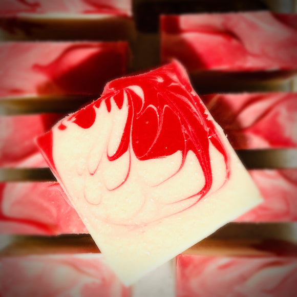 Peppermint Swirl 5 oz Soap