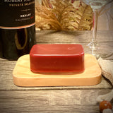 Merlot with Activated Charcoal 3.5 oz Soap Bar