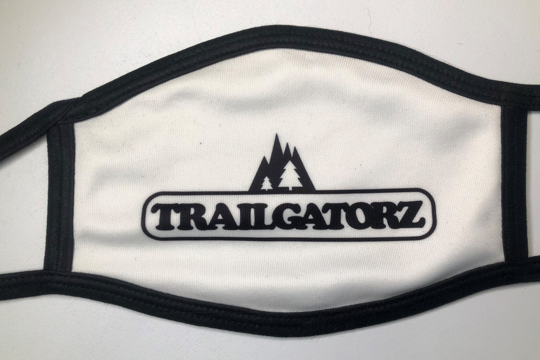 Trailgatorz Face Cover - Black and White