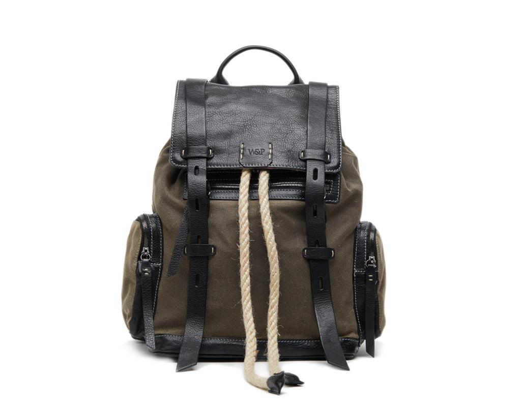 Backpack Explorer Wool Military