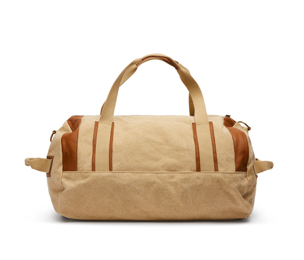 Duffle Bag Canvas Washed Beige