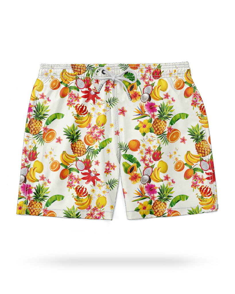 Swim Shorts Tropical Fruits