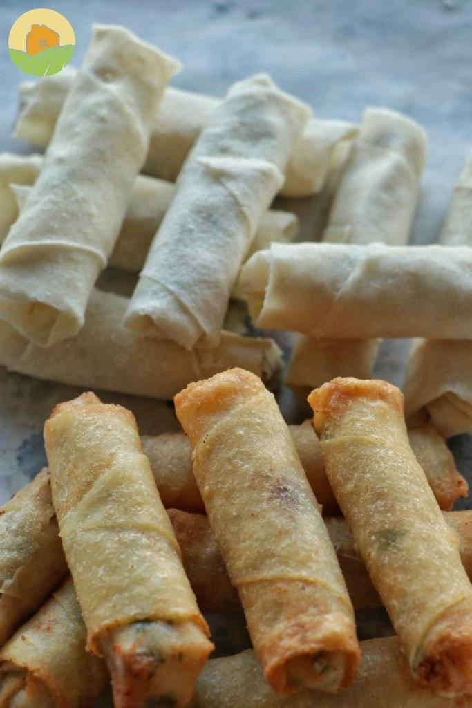 Cheese Rolls (Frozen)-  رقاقات جبنة