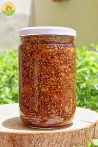 Figs Jam with Walnuts - مربى التين المعقود - From The Villages