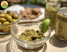 Load image into Gallery viewer, Pesto Olives Sauce - صلصة الحبق مع زيتون