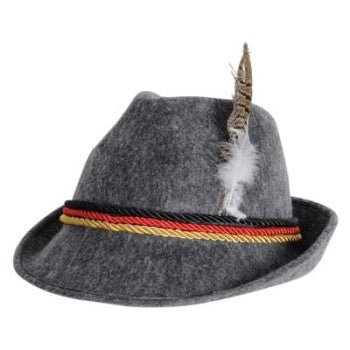 Grey Alpine Hat
