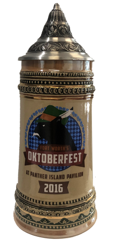 Oktoberfest Fort Worth 2016 Souvenir Stein