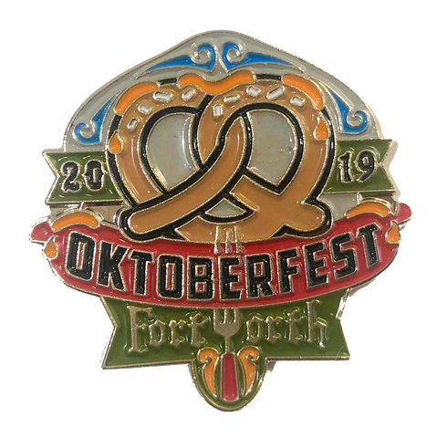 Oktoberfest Fort Worth 2019 Pin