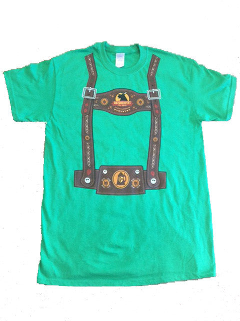 Green Lederhosen Shirt