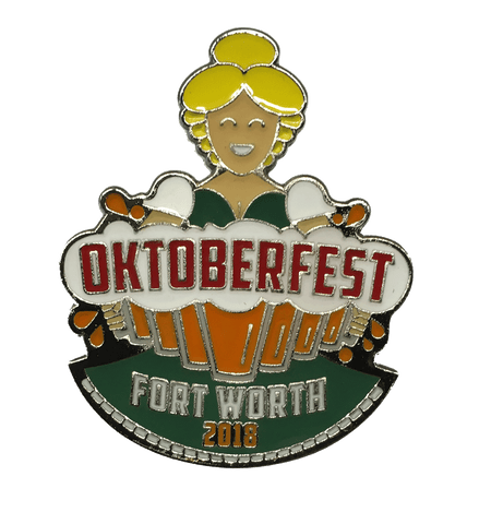 Oktoberfest Fort Worth 2018 Pin