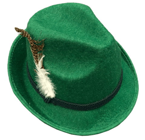 Green Alpine Hat