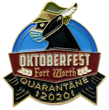 Oktoberfest Fort Worth 2020 Pin